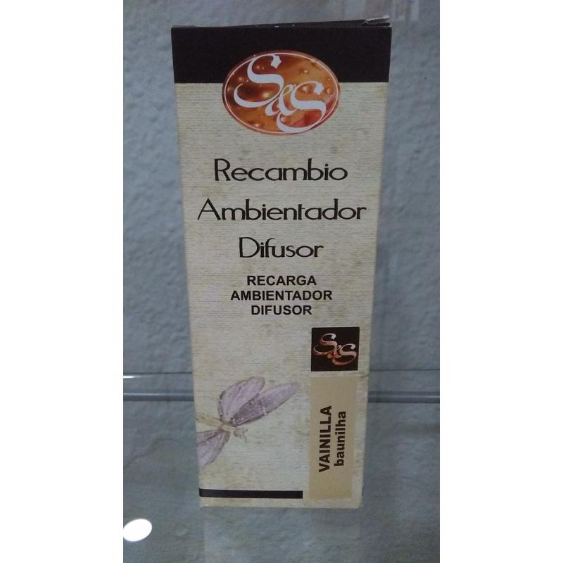 Recambio ambientador difusor vainilla - Ambientadores hogar ...